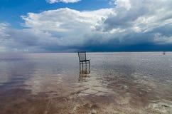 Tuz Golu, Środkowy Anatolia region, Turcja (Salt Lake) Zdjęcia Stock