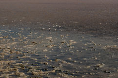 Tuz Golu (Salt Lake), Anatolia Region centrale, Turchia Fotografie Stock Libere da Diritti
