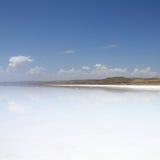 Tuz sjö, Turkiet royaltyfri foto