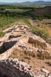 Tuzigoot国家历史文物,亚利桑那 库存照片
