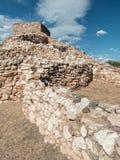Tuzigoot国家历史文物, Clarkdale,亚利桑那 图库摄影
