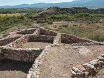 Tuzigoot National Monument. Remnants of the Sinagua culture at Tuzigoot National Monument at Clarkdale, Arizona Stock Photography