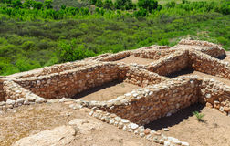 Tuzigoot-Nationaldenkmal Stockbilder