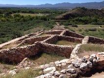 Tuzigoot ruiny Zdjęcie Stock