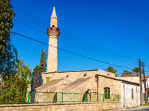 Tuzla moské i Larnaca Royaltyfria Bilder