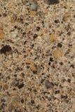 Tvärsnitt av granitstenbakgrund arkivfoton