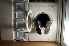 tvätt för 2 maskin Royaltyfri Fotografi