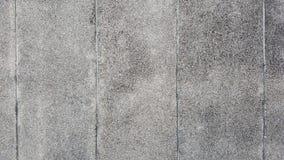 Tvättad grusväggavslutning Arkivfoto