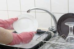 Tvättande disk Royaltyfri Foto