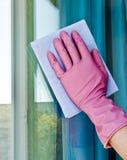 tvättande fönster Royaltyfria Foton