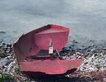 Tvättat ashore Royaltyfri Fotografi
