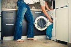 tvätteri Arkivfoton