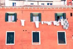 Tvätteri i venice Royaltyfri Bild