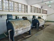 Tvätterit i Jing-Mei Human Rights Memorial och kulturellt parkerar arkivbilder
