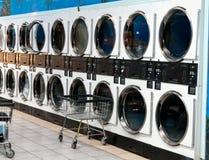 tvätterit shoppar Arkivfoto