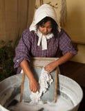 tvätterivictorian Fotografering för Bildbyråer