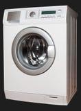 Tvättmaskin från höger sida Arkivfoton