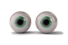 Två ögon Arkivfoto