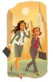 Två affärskvinnor Arkivbilder