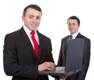 Två affärsmän Royaltyfria Bilder