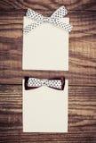 Två ark för tomt papper Fotografering för Bildbyråer