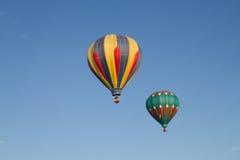 Två ballonger Arkivfoto