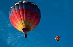 Två ballonger Fotografering för Bildbyråer