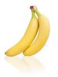 Två bananer Arkivbild
