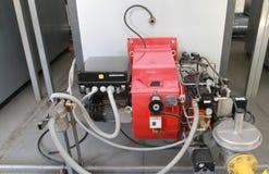 Två-bränsle gasbrännare Arkivfoton