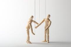 Två dockor Arkivbild