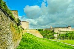 Två fästningar Fotografering för Bildbyråer
