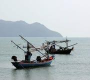 Två fisherboats Royaltyfri Bild