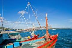 Två fiskebåtar. Royaltyfri Fotografi