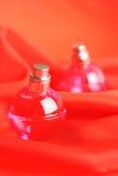 Två flaskor av doft Royaltyfri Fotografi