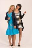 Två flickvänner Royaltyfria Foton