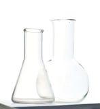 Kemiska flaskor Royaltyfria Foton