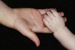 Två händer Royaltyfri Bild
