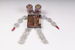 Två-hövdad robot Royaltyfri Foto