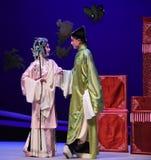 """Två känslor ömsesidigt yue - västra Chamber†för Kunqu opera""""the  Royaltyfri Bild"""