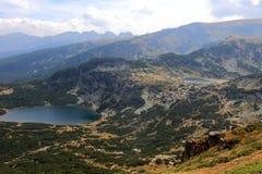 Två lakes Arkivfoton