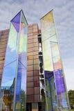 Två ljusa prismor av Heinz Mack, Vaduz Royaltyfri Foto