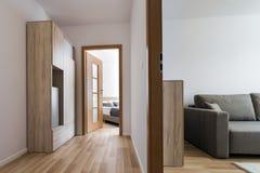 Två moderna rum för enkel design Royaltyfri Bild