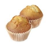 Två muffiner Royaltyfri Fotografi