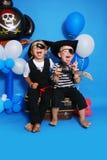 Två piratkopierar Royaltyfri Foto
