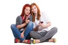Två rödhårig mankvinnor Royaltyfri Fotografi