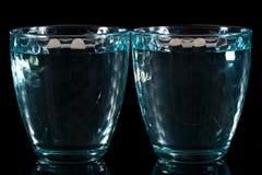 Två slösar mång--fasetterade exponeringsglas på en olik bakgrund Royaltyfria Bilder