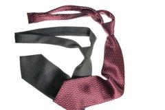 Två slipsar Arkivfoton