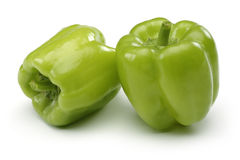 Två spanska peppar arkivfoto