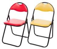 Två stolar Arkivbilder