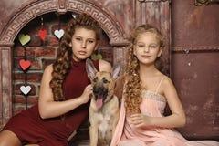 Två systrar Royaltyfri Foto
